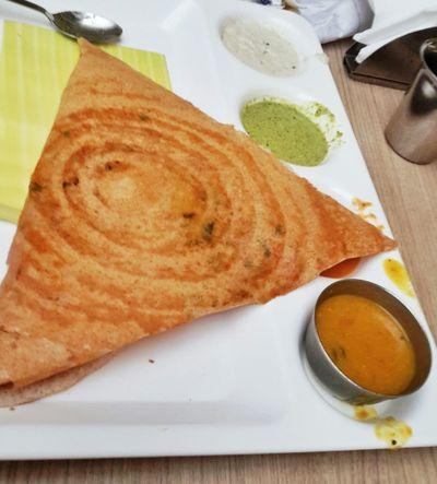 A Taste Of Life Dosa Dosai South Indian Food Sambar Food