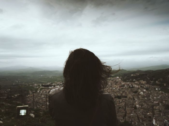 Melancholy Sad & Lonely Depression Woman