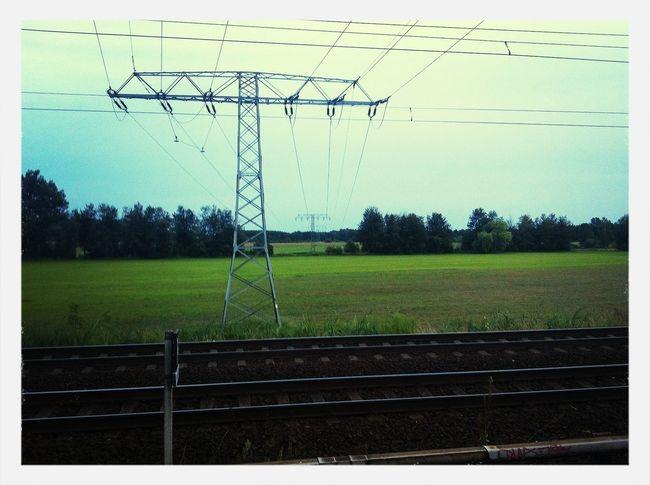 Power Lines Brandenburg