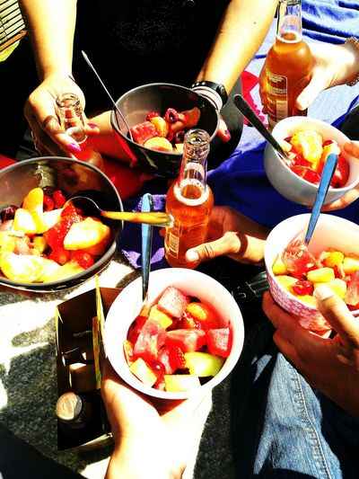 Fruit Food And Drink People Healthy Eating Food Freshness Grape Watermelon Fruit Salad Healthy ShareTheMeal What Who Where