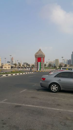 Sharjah Uae Lantern Outdoor Sky City Architecture No People Day Travel Destinations