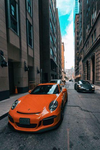 Porche Toronto Luxury Porsche 911 Porsche Mode Of Transportation Car Building Exterior Motor Vehicle Architecture Transportation City Street Land Vehicle Built Structure City Street Road Building Sky City Life Day Outdoors