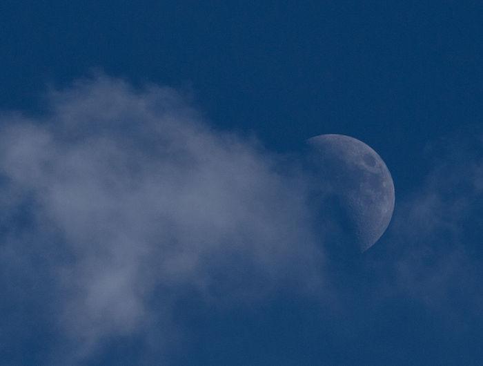 Day moon at