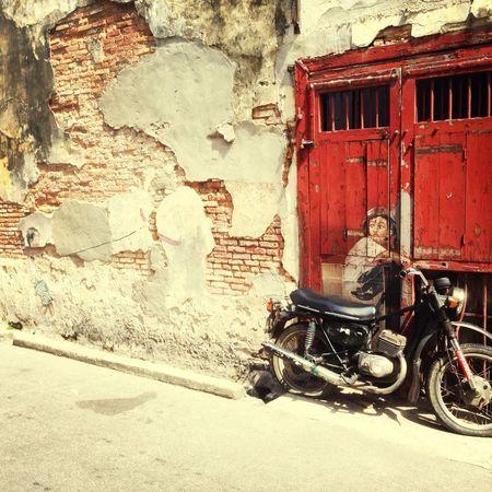 Hot and sunny Penang..