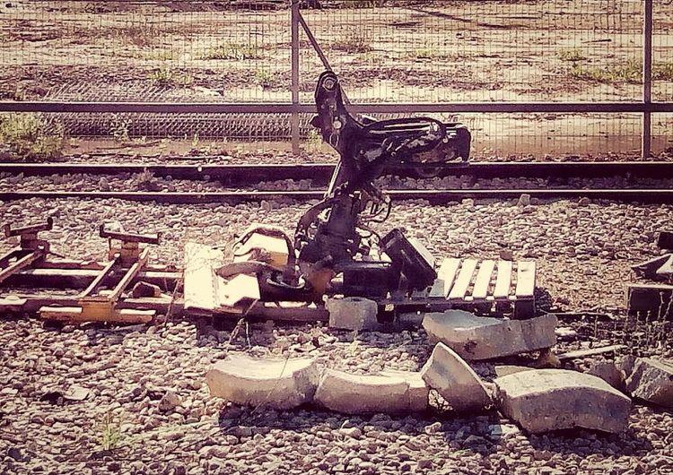 Street Photography Beautiful Machine Traveling By Train Netanya