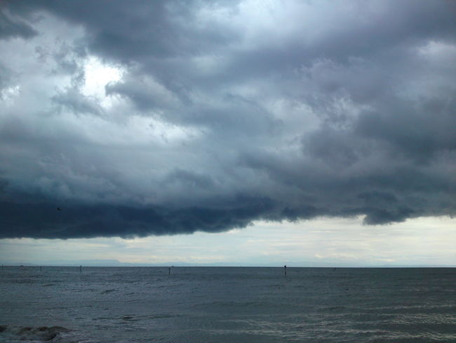 Adria Adriatic Sea Bad Weather Bad Wheater At Sea Cloud Cloud - Sky Cloudy Dramatic Sky Meer Schlechtes Wetter Sea Sky Storm Cloud Wolken