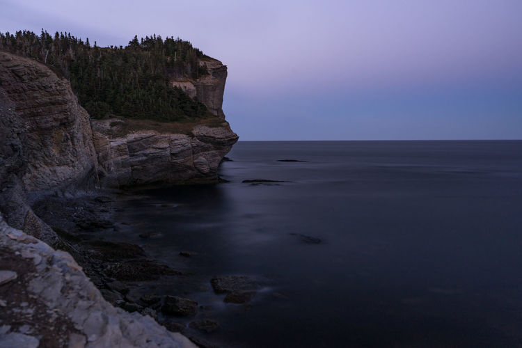 Autumn EyeEmNewHere Quebec Canada Fall Forillon National Park Landscape Rock Formation Sea Sunset