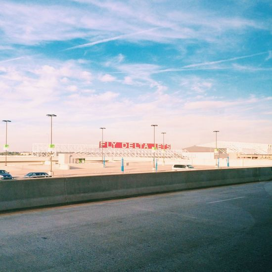 Atlanta Typography At The Airport