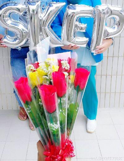 Flowers Nurse Sarjana Happy