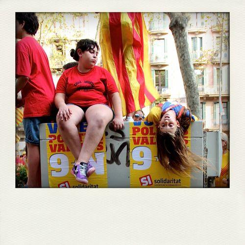 La Diada AraEsLHora Barcelona ladiada 11s