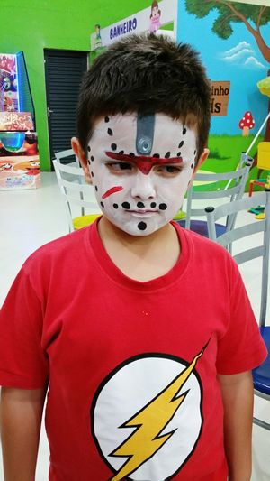 "Happy halloween my boy, meu pequeno ""Jason"" rs Halloween Amor Sem Fim! My Life ❤ AmorMaiorDoMundo Família O Tempo Passa Muito Rápido Happy Halloween"
