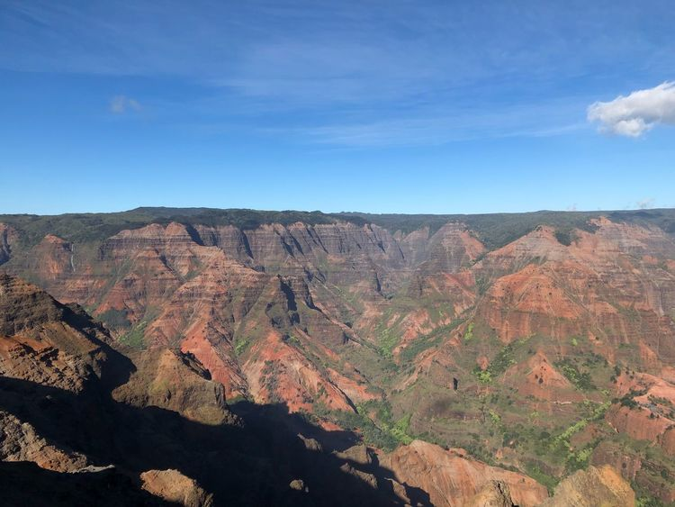 Waimea canyon Tranquil Scene Beauty In Nature Tranquility Landscape Nature Geology Outdoors