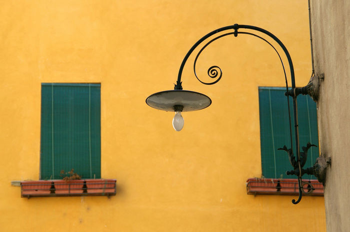 Elegant Elégance Green Tuscany Wall Day Graceful Italian Italy Lamp Mediterrean No People Windows Yellow