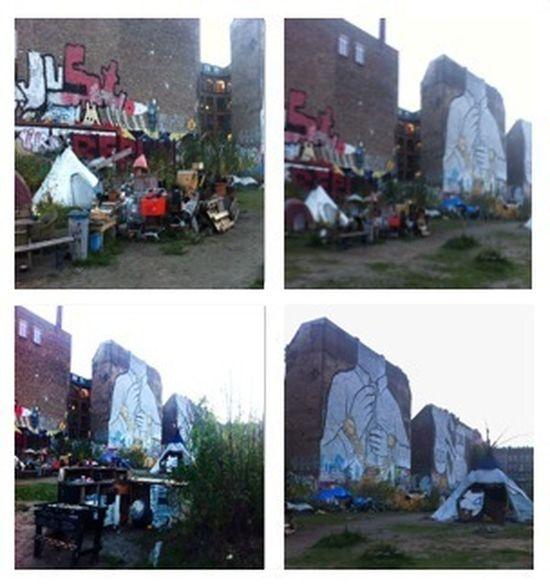 Great Streetart / Graffiti @ Schlesische Straße 32-34 / Cuvrystraße