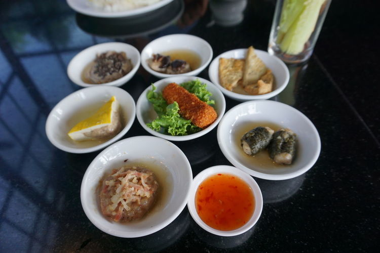 Asian Food Bowl Chinese Food Close-up Condiment Egg Food Food And Drink Freshness Healthy Eating High Angle View Indoors  Japanese Food No People Plate Ready-to-eat Sauce Serving Size Spoon Still Life Table Wellbeing 點心 點心Snack