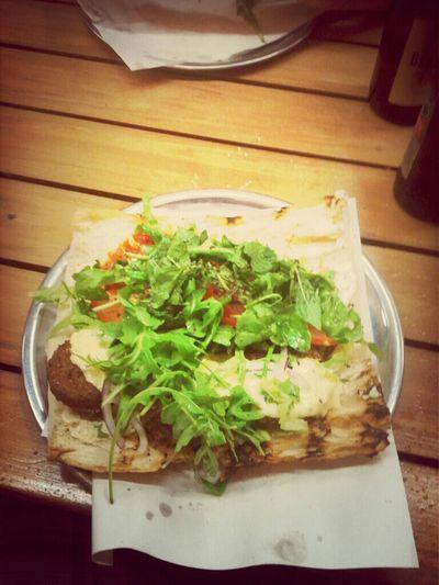 Falafel In Brot