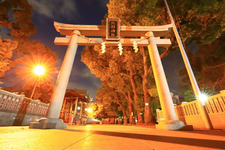 Shrine Japan Photography Tadaa Community Hello World Canonphotography Lens Flare Built Structure Architecture Sunlight Illuminated Outdoors No People