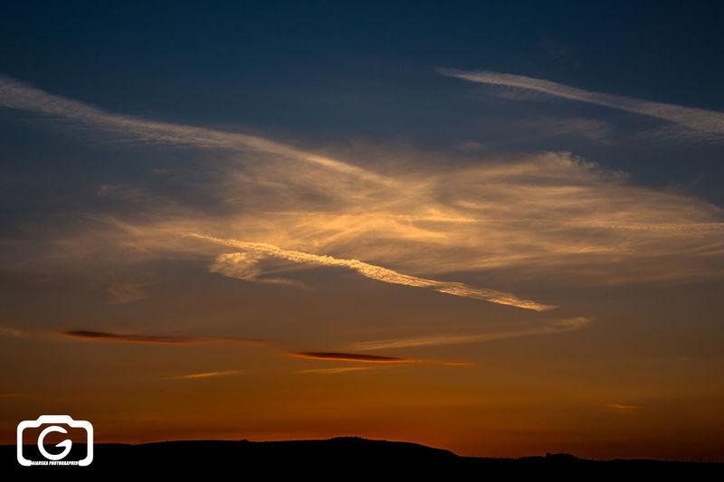 Quante volte ho giardato al Cielo ... Sunset Sky Tuscany