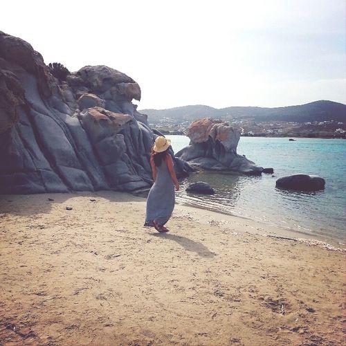Sculptures of granites rocks in Kolymbithres beach Paros Island Eyem Nature Lovers  Beachphotography