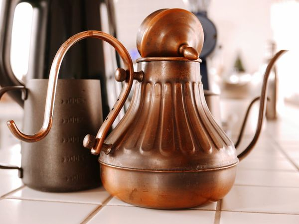 Cafe coffee Teapot Domestic Kitchen No People Coffeepot Pourover spout Kettle