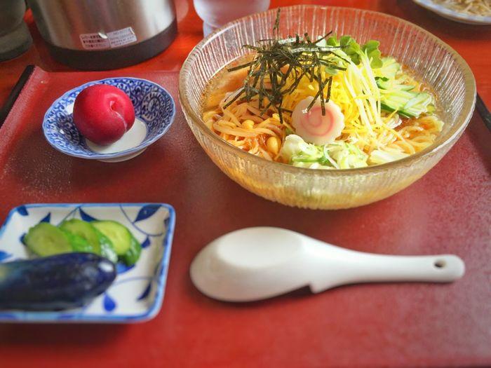 淡冷ピリ辛中華770円。酸っぱ辛いスープがGOOD! Noodles Ramen Iphonegraphy