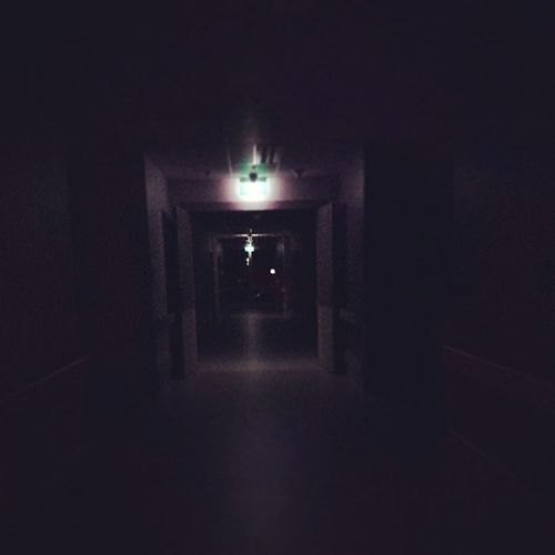 So eerily quiet --- it can be scary. Nightduty Hospitals