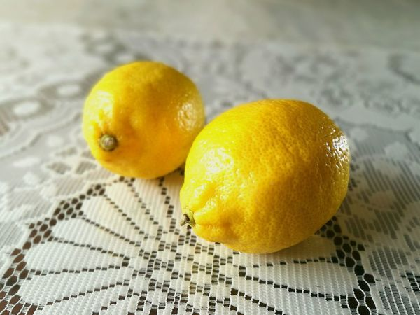 Lemon Fruit Yellow Citrus Fruit Healthy Eating Food And Drink Freshness Food Indoors  No People Table Close-up Healthy Lifestyle Day Sour Taste Paint The Town Yellow