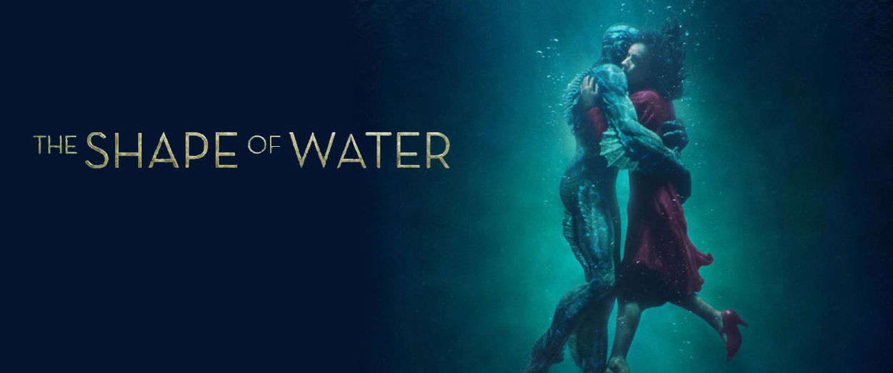 I was a monster. And you, you are so beautiful. Guillermo Del Toro Monster Mute Swan The Shape Of Water Blue Blue Background Sad Underwater
