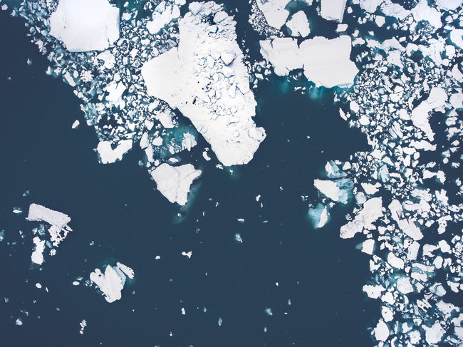 Glacier lagoon in Iceland Aerial Clima Drone  Dronephotography Floating Glacier Lagoon Ice Iceland Nature Pattern Peaces Water