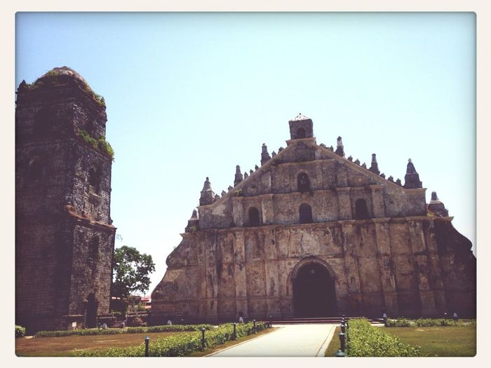 The 420 Year Old Church Of Paoay.