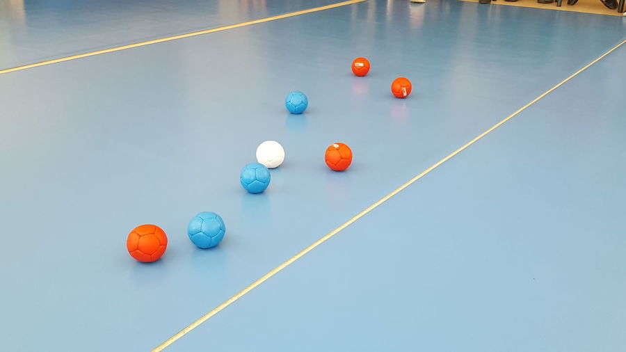 EyeEm Selects Boccia Game Handicap Multi Colored ParaOlympics