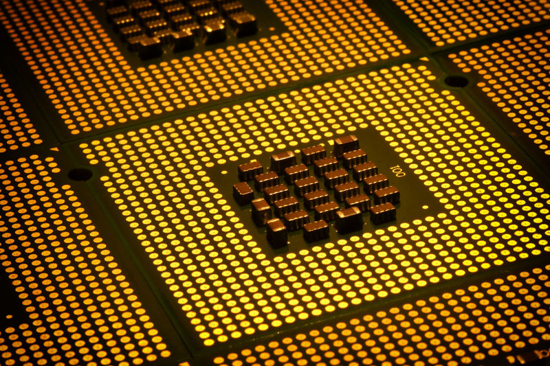 close up on CPU Chips aligned Byte CPU Close Up Technology Gold Processor Tech Aligned Alignement Amd Binary Central Processing Unit Chip Computer Cpu Computer Hardware Indoors  Information Intel No People Pattern Pentium Processor Computer Processors Socket Technology