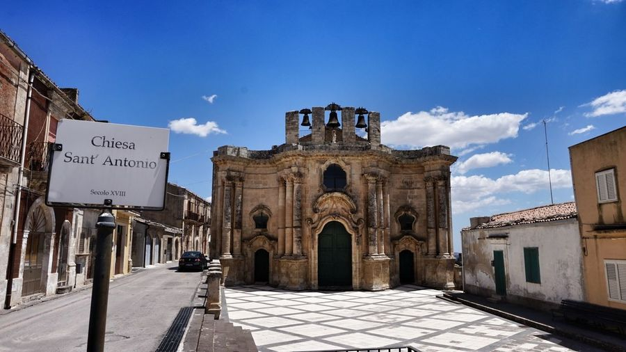 Travel Destinations Architecture Tranquil Scene Sicily Sicilia Italia Religion Architecture History Church