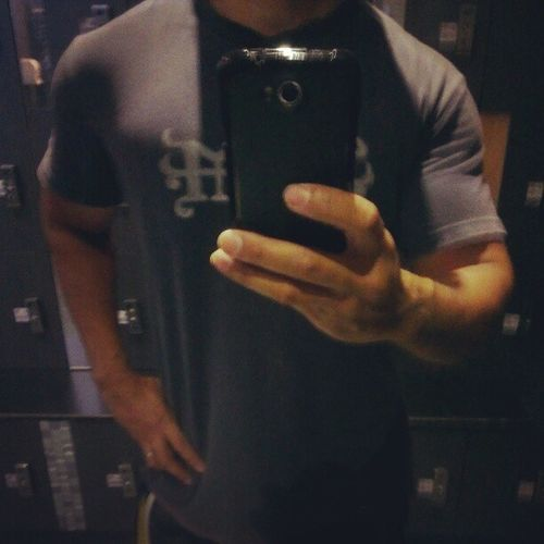 Done..sorry, no shirtless progress. Gym Fitness Locker Notabodybuilder AsweatAday evenSupermanwearsashirtJacob!