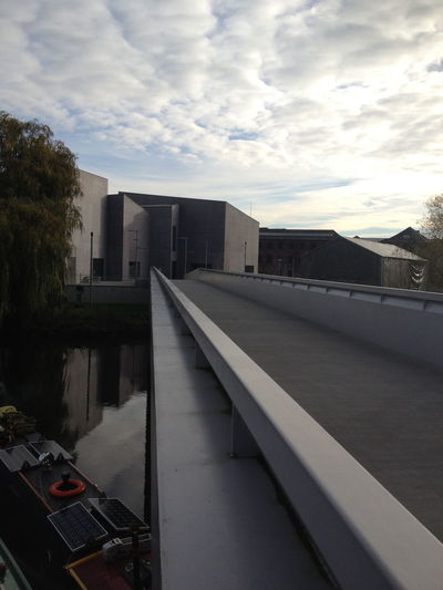 Architecture Built Structure Cloud Hepworth Gallery Modern Outdoors