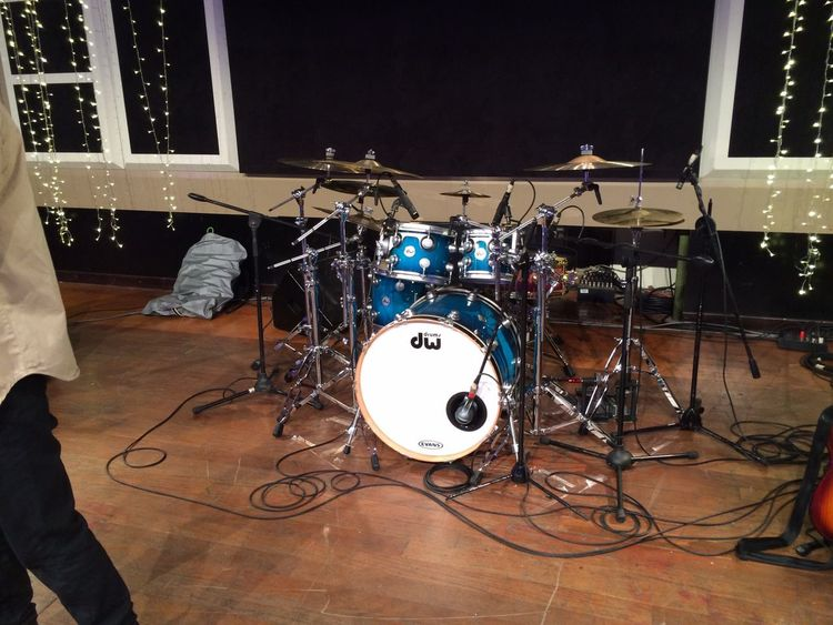 Sound Check.. Dw Drums