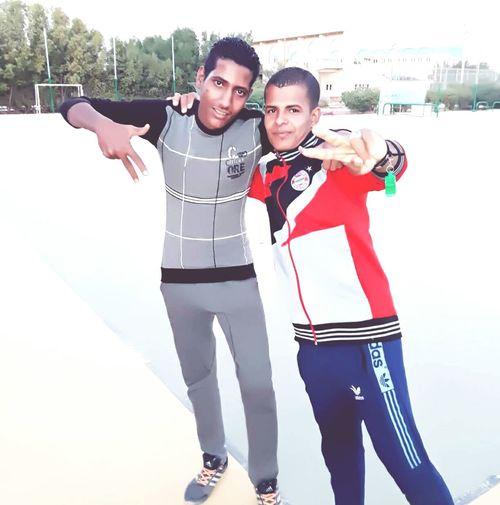 my friend Ashry