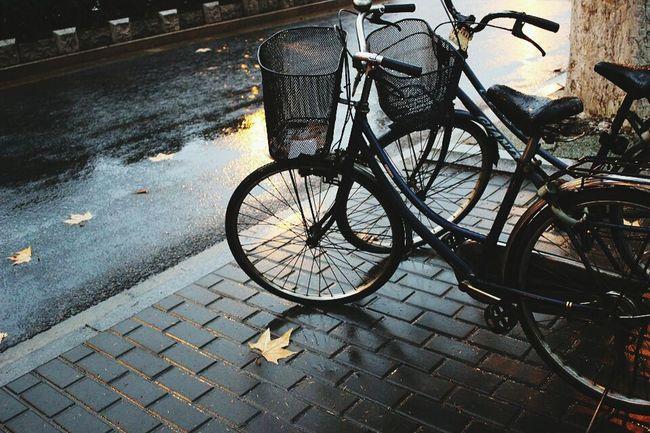 路边自行车 Bicycle Street NANJING南京CHINA中国BEAUTY 中国南京 EyeEm China View