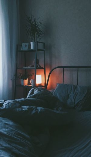 Cozy Morning Electric Lamp Comfortable Night First Eyeem Photo Furniture Bed Bedroom Domestic Room Pillow Indoors  Home Interior Lighting Equipment Sheet Relaxation House Linen No People Wall Absence