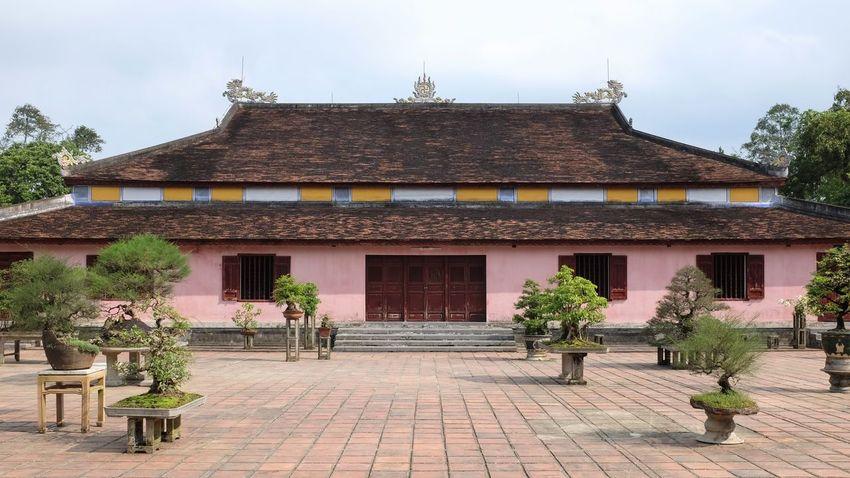 Thien Mu pagoda. Bonzai Pink Travel Photography Viet Nam Vietnam Architecture Building Exterior Culture Day No People Outdoors Temple Temple Architecture Vietnam Trip
