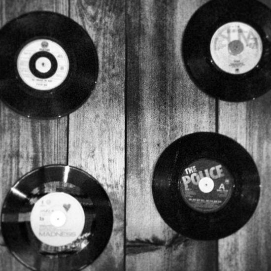 Nailed Hits Seveninch Nailed Wood Wall Vinyl Madness Nails 45rpm OldSkool 80 Eighties Hothits