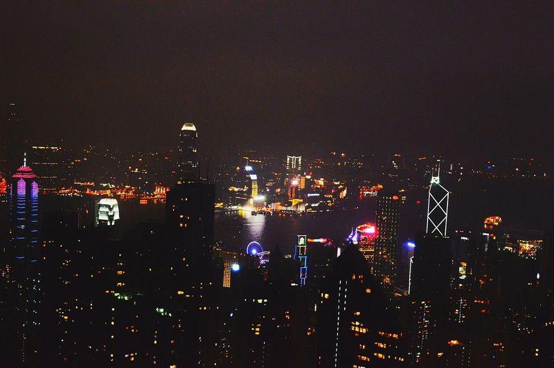 Citylights HongKong Thepeak Nightphotography