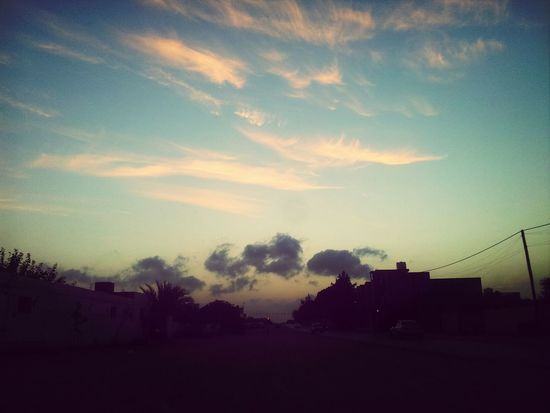 Cloud_collection  Sunset Libya Zawia