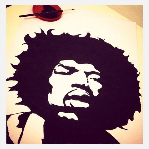 Hendrix Drawing Ink First Eyeem Photo