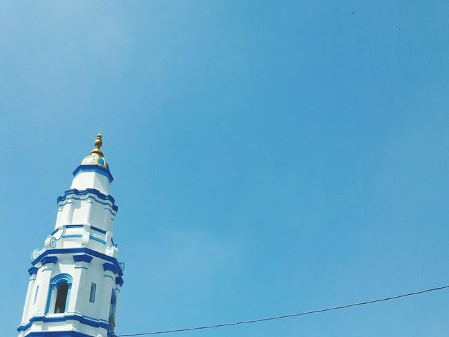 blue mosque in ipoh Architecture Streetlife