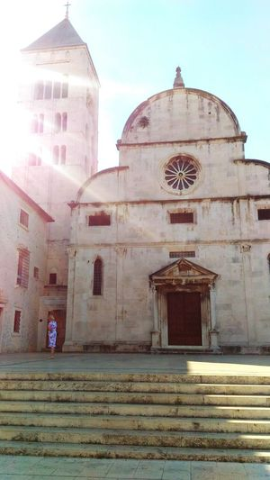 Zadar Croatia ♡ Streetphotography Sunlight Church Beautiful Place Cathedral Of St. Anastasia Roman Architecture Gothic Architecture