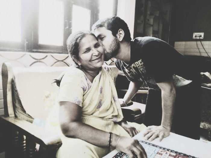 Women Who Inspire You Women Who Inspired Me Indian Housewife A Mother's Love Mothers Love Happy Woman Son & Mother Indian People Housewife The Bond Between Mothers And Their Babies Is ENDLESS Investing In Quality Of Life