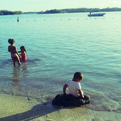 Maurice Ilemaurice Igersmauritius Beach ocean instamood children playing love swim