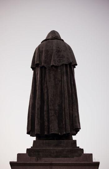 Architecture Day Giordano Bruno Giordano Bruno Memorial Sculpture No People Philosopher Rome Thinker