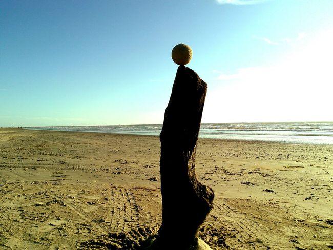 Showcase: January Sand Ball Sculpture on the Beach